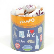STAMPO SCRAP NY-LONDON-PARIS
