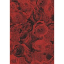 PAPEL DECOPATCH ROSAS ROJAS