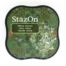 TINTA STAZON MINI - OLIVE GREEN