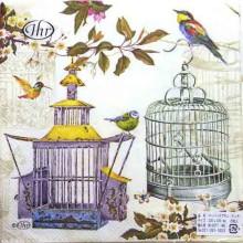 SERVILLETAS BIRDCAGES