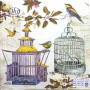 SERVILLETAS BIRDCAGES