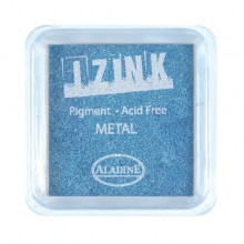 TINTA IZINK METAL LIGHT BLUE