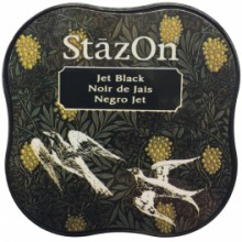 TINTA STAZON MINI - JET BLACK