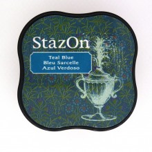 TINTA STAZON MINI - TEAL BLUE