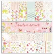 KIT PAPERS JARDIN SECRET
