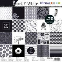 BLOC PAPERS BLACK&WHITE