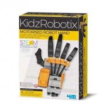 MOTORISED ROBOT HAND - KidzRobotix