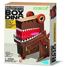 MOTORISED BOX DINO GREEN SCIENCE