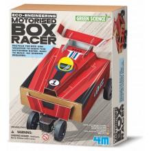 MOTORISED BOX RACER GREEN SCIENCE