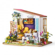 Diy miniature house: Lily's porch