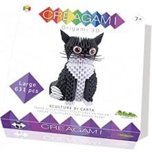 Origami 3D cat