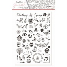 Stampo bullet journal spring