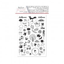 Stampo bullet journal automne