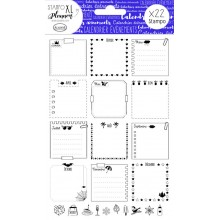 Stampo xl planner page calendar