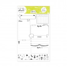 Stampo xl planner page mois