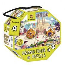 Grand tour puzzle barcelona